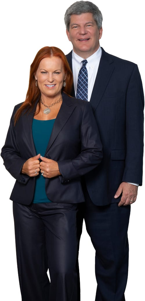 Attorney Tammy Medler and Attorney John Medler